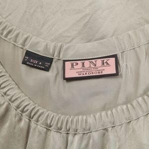 Thomas Pink Tops - THOMAS PINK – Silver Tank Top Blouse – Size 2